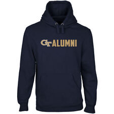 Georgia Tech Yellow Jackets Wordmark Alumni Pullover Hoodie - Navy Blue - NCAA