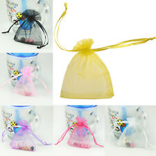 Wholesale Bulk Sheer Organza Wedding Party Jewelry Gift Favor Candy Bag Pouch