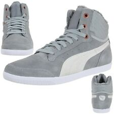 Puma Glyde Court Fur Trainers padded Winter shoes grey