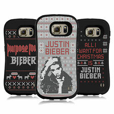 OFFICIAL JUSTIN BIEBER KNITTED CHRISTMAS HYBRID CASE FOR SAMSUNG PHONES