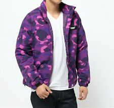 A BATHING APE COLOR CAMO DOWN JACKET Mens Winter Warm Coat Parka New From Japan
