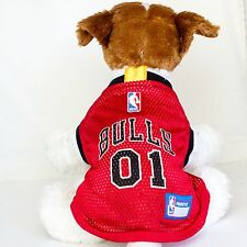 Chicago Bulls Dog Jersey NBA Basketball Officially Licensed Pet Product