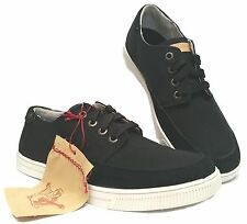 TRUE RELIGION TR176100-01A FREE LANCE LOW Mn's (M) Black Canvas Casual Shoes
