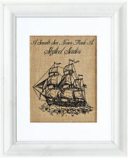 Fiber & Water Schooner Sailboat Framed Graphic Art