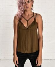 OneTeaspoon San Cerena Slip Cami - Brown Sugar