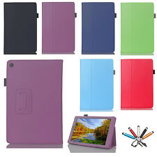 "For Amazon Kindle Fire HD 7"" 2015 Tablet New Flip Leather Folio Stand Case Cover"