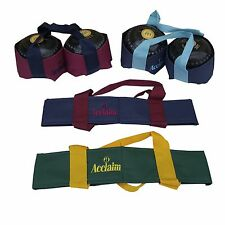 ACCLAIM Chatton Padded Two Bowl Carrier Lawn Level Crown Flat Green Bowls