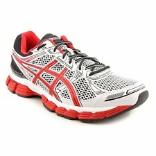 ASICS T308N.0121 GT-3000 Mn's (M) White/Black/Red Synthetic/Mesh Running Shoes