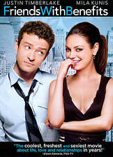 Friends with Benefits (DVD, 2011) NEW Justin Timberlake Mila Kunis Andy Samberg
