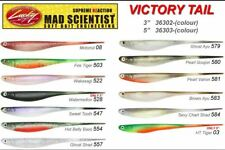 Lucky Craft Mad Scientist Victory Tail soft plastic
