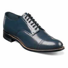 Stacy Adams Madison Cap Toe - Navy
