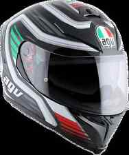Agv Unisex Green Red White K5 Full Face Motorcycle Street Race Italy Helmet