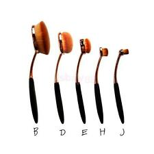 Beauty Toothbrush Shaped Foundation Power Makeup Oval Cream Puff Brushes Set