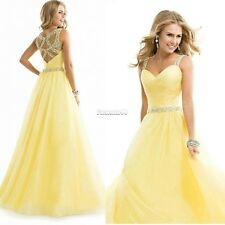 Sexy Chiffon Evening Formal Party Cocktail Long Dress Bridesmaid Prom Ball FT