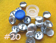 Cover Button Starter Kit Wire Back Buttons w/clear tool hand press notion supply