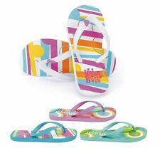 "CHILDRENS BOYS GIRLS ""URBAN BEACH"" FLIP FLOPS SUMMER SANDALS BEACH WEAR"