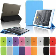 Ultrathin lot Leather Smart Cover Hard Case For Apple iPad 5 /6 Air 2 Wake/Sleep
