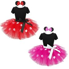 Baby Toddler Girl Kid Minnie Mouse Costume Party Outfit Xmas Fancy Tutu Dress up