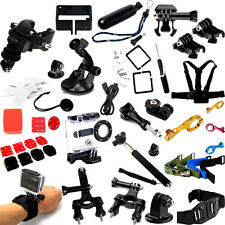 Chest Head Tripod Floaty Roll Cage Mount Accessories For GoPro HD Hero 3+  3 2 1
