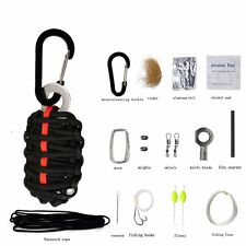 17 In 1 Multifunction Outdoor Hiking Camping Emergency Survival Tools Set Bag