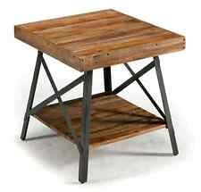 Rustic Wood Coffee Table Reclaimed Wood Industrial Chic Design NEW Free Shipping