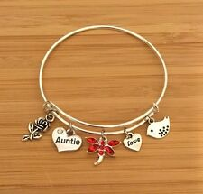 Personalised Gift Bracelets cousin teacher mum sister daughter nan -Gift for Her