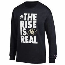 Colorado Buffaloes Champion Rise Long Sleeve T-Shirt - Black - NCAA