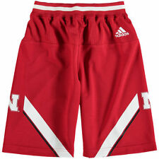 Nebraska Cornhuskers adidas Youth Replica Basketball Shorts - Scarlet