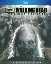 Walking Dead: The Complete First Season (Blu-ray Disc, 2011, 3-Disc Set,...