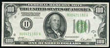 FR. 2151-H 1928-A $100 ONE HUNDRED FRN FEDERAL RESERVE NOTE ST. LOUIS, MO