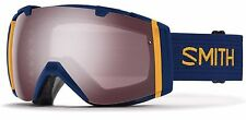 SMITH OPTICS SAMPLE II7ISCN17 I/O SKI SNOWBOARD GOGGLE NAVY SCOUT/IGNITOR MIRROR