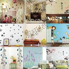 New DIY 3D Various Views PVC Wall Sticker Poster Bedroom Mural Decals Home Decor