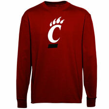 Cincinnati Bearcats Youth Big Logo Long Sleeve T-Shirt - Red - NCAA