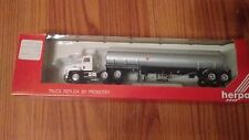 Herpa HO Scale Undecorated Tanker Mack Tractor Trailer Truck