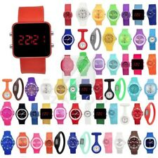 Hot Silicone Rubber Digital Jelly Negative Ion Sports Bracelet Wrist Watches