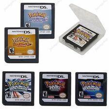 Pokemon Platinum+Pearl+Diamond+HeartGold+SoulSilver Game Card Nintendo DS NDS