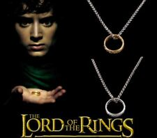 Men's Women's UNISEX 'Lord Of The Rings' – 'The One Ring' & Chain Set - Fantasy