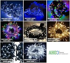 28M 400 LED Fairy Christmas String Lights Indoor Outdoor Garden Party Xmas Light
