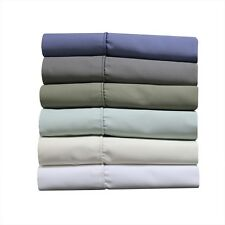 1000 TC Wrinkle-Free Cotton-Blend Bed Sheets,Deep Pocket Twin-XL Solid Sheet Set