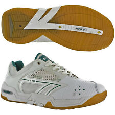 Hi-Tec S702 4 SYS Squash / Badminton / Indoor Court Shoe - White - CLEARANCE