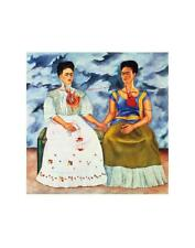 The Two Fridas,, c.1939 Art Print by Kahlo, Frida