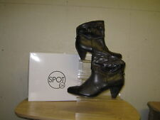 ladies spot-on brown ankle boot style F 5656 ""