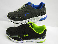 Mens Air Tech Lace Up Casual Trainers 2 Colours Available Style MADRID