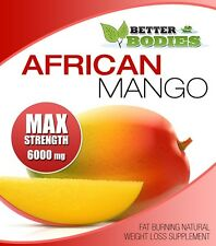 African Mango MAX Strength 6000mg Strong Weigh Loss Diet Slimming BETTER BODIES