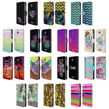 HEAD CASE DESIGNS TREND MIX LEATHER BOOK WALLET CASE COVER FOR HTC DESIRE 510