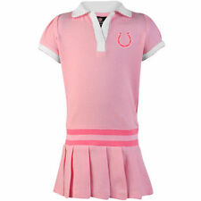 Indianapolis Colts Infant Girls Pleated Sundress - Pink