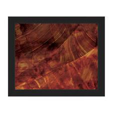 Click Wall Art 'Red Planet' Framed Graphic Art