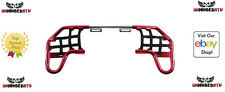 Tusk Comp Series Nerf Bars Red/Black Webbing Fits: Yamaha YFZ 450 2004–2009