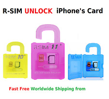 R-Sim10+ R-SIM11 R-SIM11+ Unlock iPhone 5 6 7 6Plus iOS7/8/9/10 Card iOS 9 10