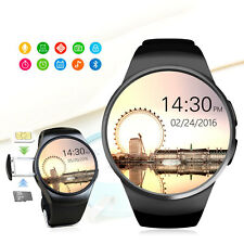 IPS LCD Bluetooth Smart Watch Phone SIM/TF Card w Heart Rate Pedometer Sedentary